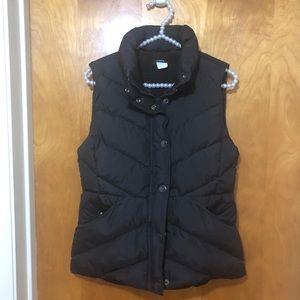 J. Crew | Brown Puffer Vest